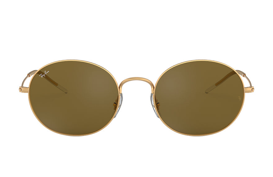 Ray-Ban RAY-BAN BEAT Gold with Brown Classic B-15 lens