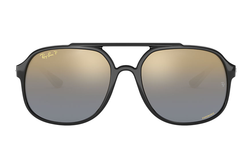 Ray-Ban  sunglasses RB4312CH MALE 002 rb4312 chromance zwart 8053672929874