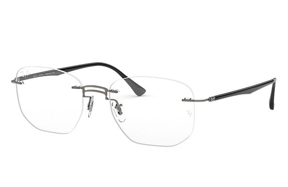 Ray-Ban 0RX8757-RB8757 Gunmetal; Black OPTICAL