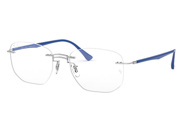 Ray-Ban 0RX8757-RB8757 Silver; Blue OPTICAL