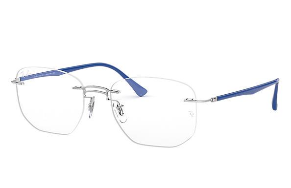 e292fdc92 Óculos de grau Ray-Ban RB8757 Prata - Titânio - 0RX8757119353 | Ray ...