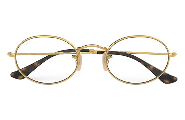 Ray-Ban OVAL OPTICS Gold