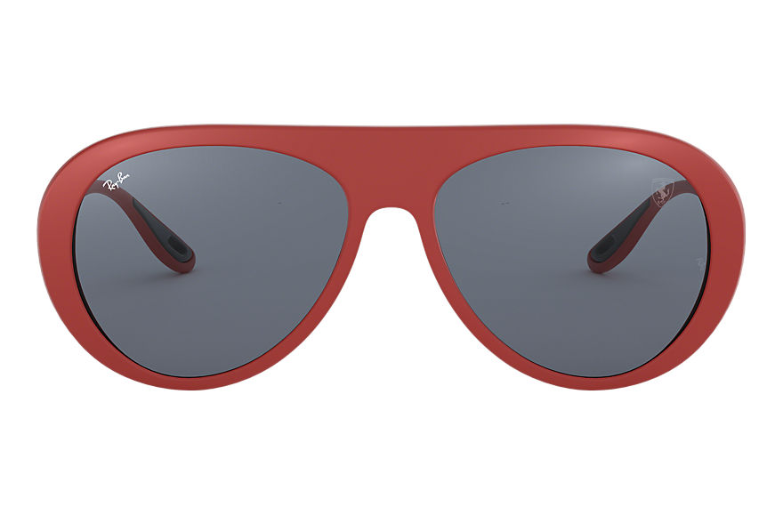 Ray-Ban SCUDERIA FERRARI UK LIMITED EDITION Red with Grey Classic lens