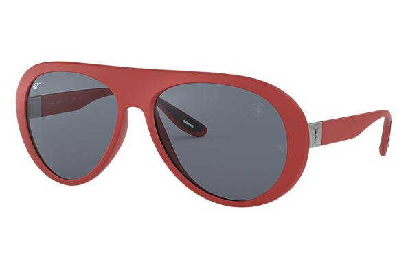 Ray-Ban 0RB4310M-RB4228M SCUDERIA FERRARI UK LIMITED EDITION Red SUN