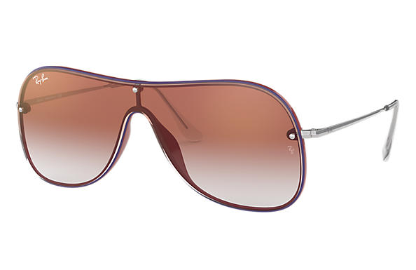 Ray-Ban 0RB4311N-RB4311N Black,Red; Silver SUN