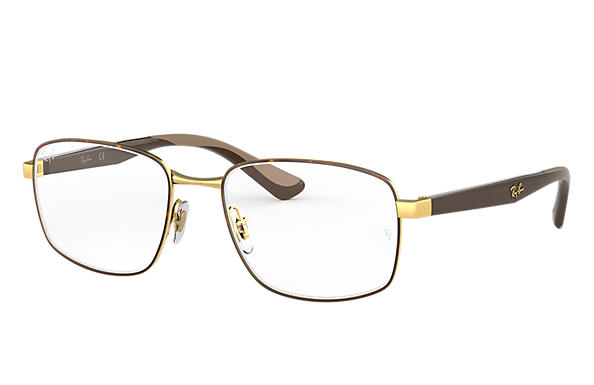 Ray-Ban 0RX6423-RB6423 Habana,Oro; Marrón OPTICAL