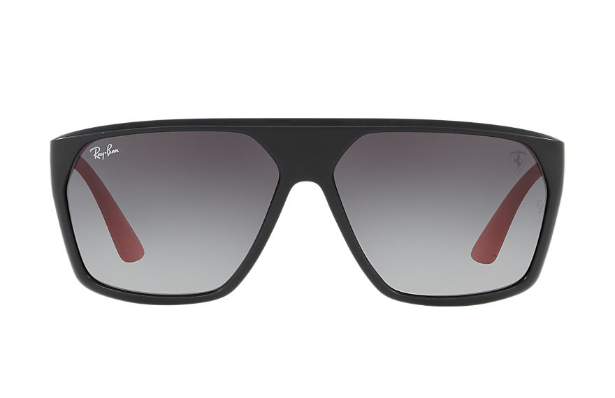 Ray-Ban SCUDERIA FERRARI SPAIN LIMITED EDITION Black with Grey Gradient lens