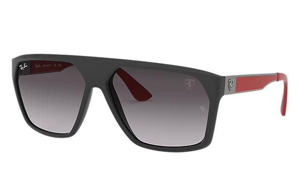 Ray-Ban 0RB4309M-SCUDERIA FERRARI SPAIN LIMITED EDITION Black,Gunmetal; Red SUN