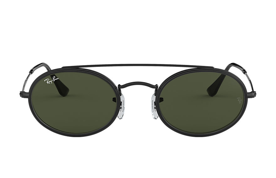 Ray-Ban  sunglasses RB3847N UNISEX 007 oval double bridge black 8053672970104