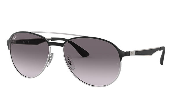 Ray-Ban		 0RB3606-RB3606 Zwart; Staalgrijs SUN