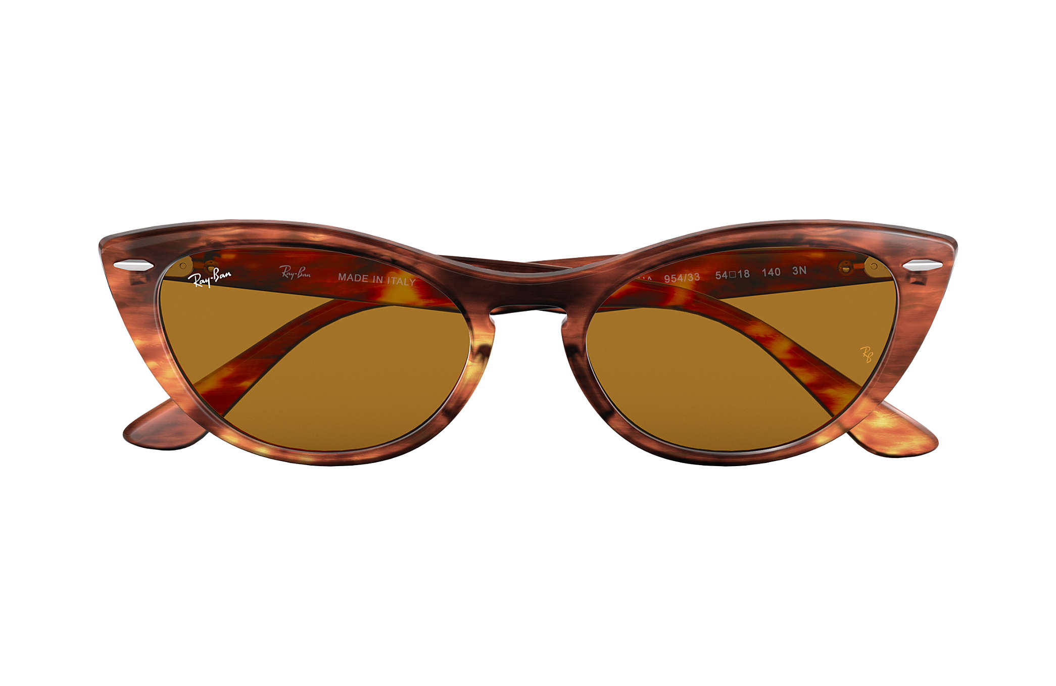 Ray-Ban Nina RB4314N Tortoise - Propionate - Brown Lenses ... 29336e9d3fb