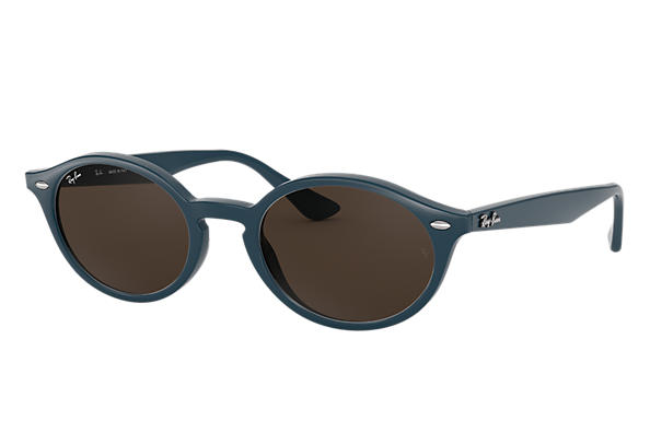 Ray-Ban Sunglasses RB4315 Blue with Brown Classic B-15 lens