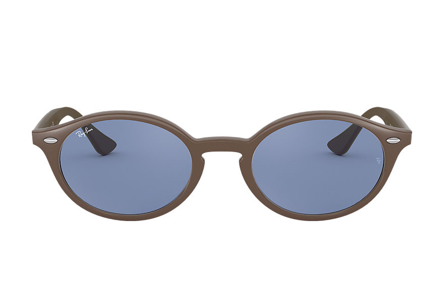 Ray-Ban Sunglasses RB4315 Brown with Blue Classic lens