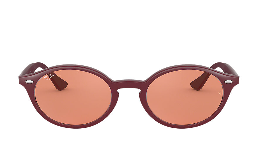 Ray-Ban Sunglasses RB4315 Bordeaux with Orange Classic lens