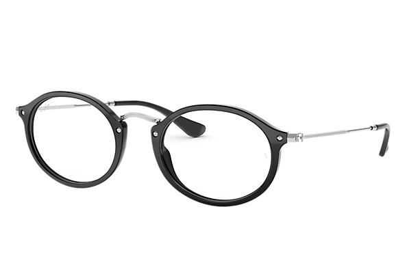 Ray-Ban 0RX2547V-RB2547V Nero; Argento OPTICAL