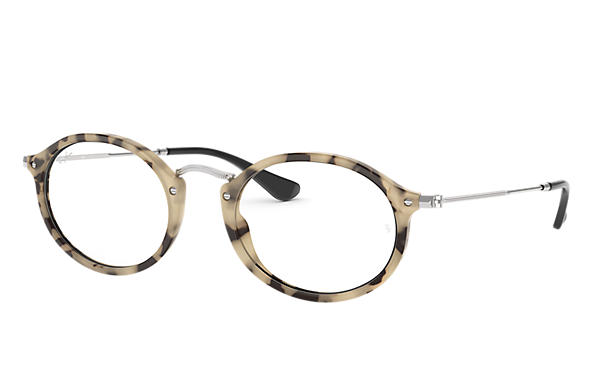 Ray-Ban 0RX2547V-RB2547V Beige Havana,Havane; Argent OPTICAL