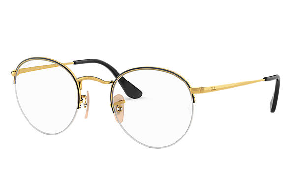 Ray-Ban Eyeglasses ROUND GAZE Black