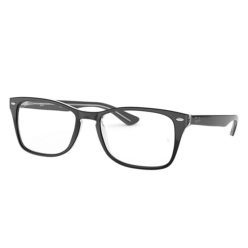 Image of Ray-Ban Black Eyeglasses - Rb5228m