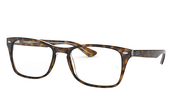 Ray-Ban 0RX5228M-RB5228M Habana,Transparente OPTICAL