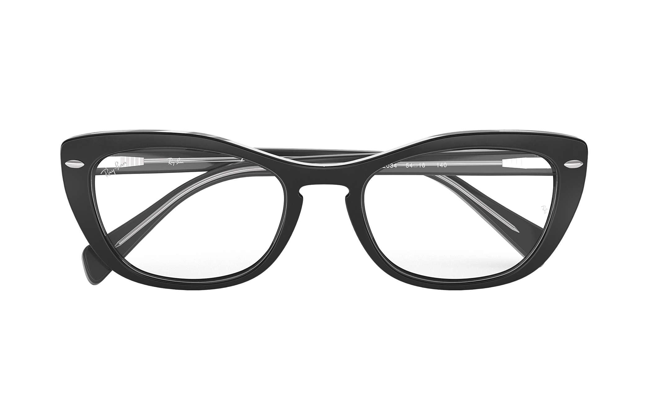 20bdf62ea2b7d Ray-Ban eyeglasses RB5366 Black - Acetate - 0RX5366203452