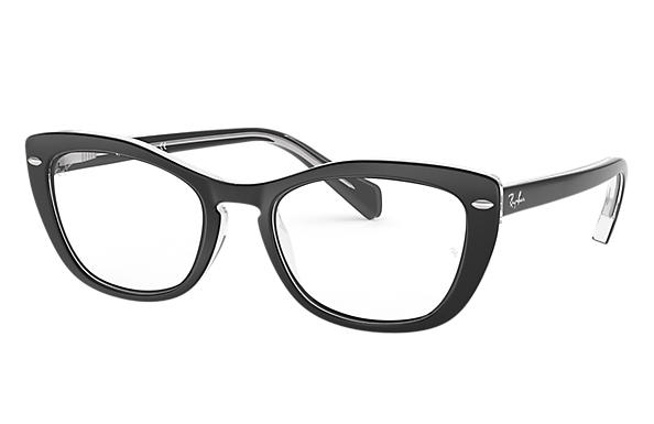 Ray-Ban 0RX5366-RB5366 Noir,Transparent OPTICAL