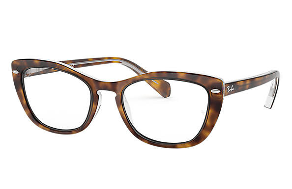 Ray-Ban 0RX5366-RB5366 Havane,Transparent OPTICAL