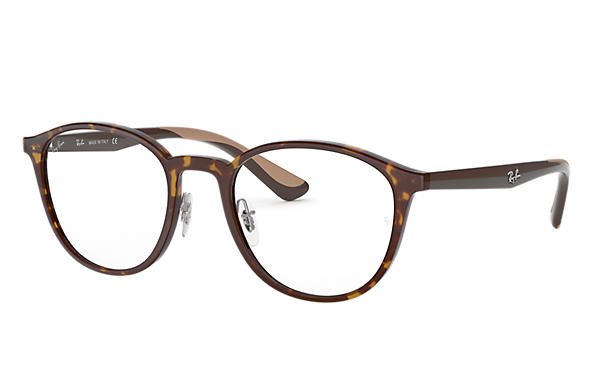 Ray-Ban 0RX7156-RB7156 Tortoise; Brown OPTICAL