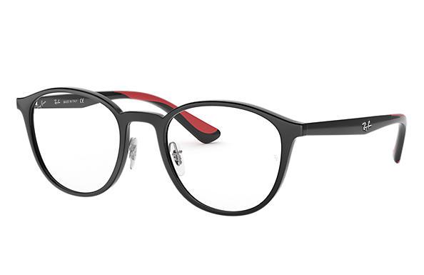 b71d3f1fc08d7 Óculos de grau Ray-Ban RB7156 Preto - Injetado - 0RX7156579553