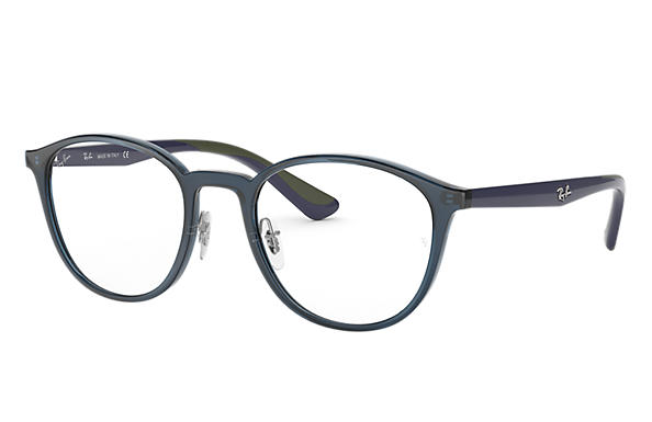 Ray-Ban 0RX7156-RB7156 Blue,Transparent; Blue OPTICAL