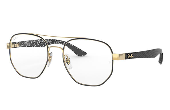 Ray-Ban 0RX8418-RB8418 Nero,Oro; Nero OPTICAL