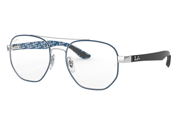 Ray-Ban 0RX8418-RB8418 Azul,Plata; Negro,Azul OPTICAL