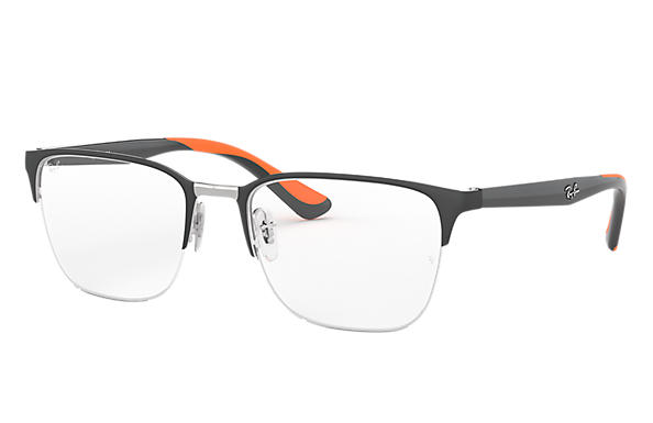Ray-Ban 0RX6428-RB6428 Gris,Argent; Gris OPTICAL