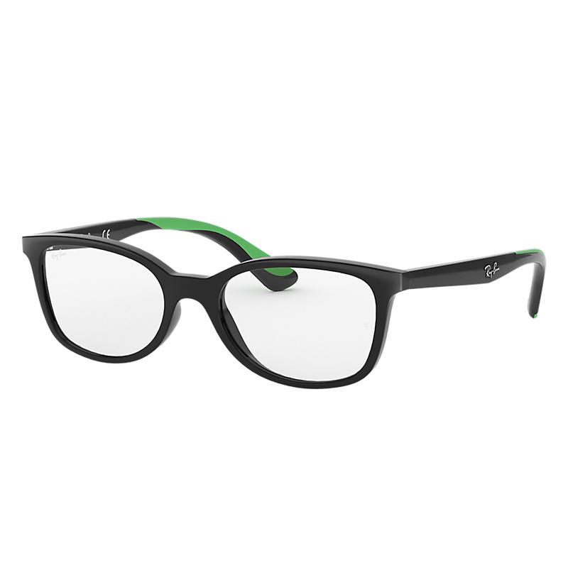 Image of Ray-Ban Junior Black Eyeglasses - Rb1586