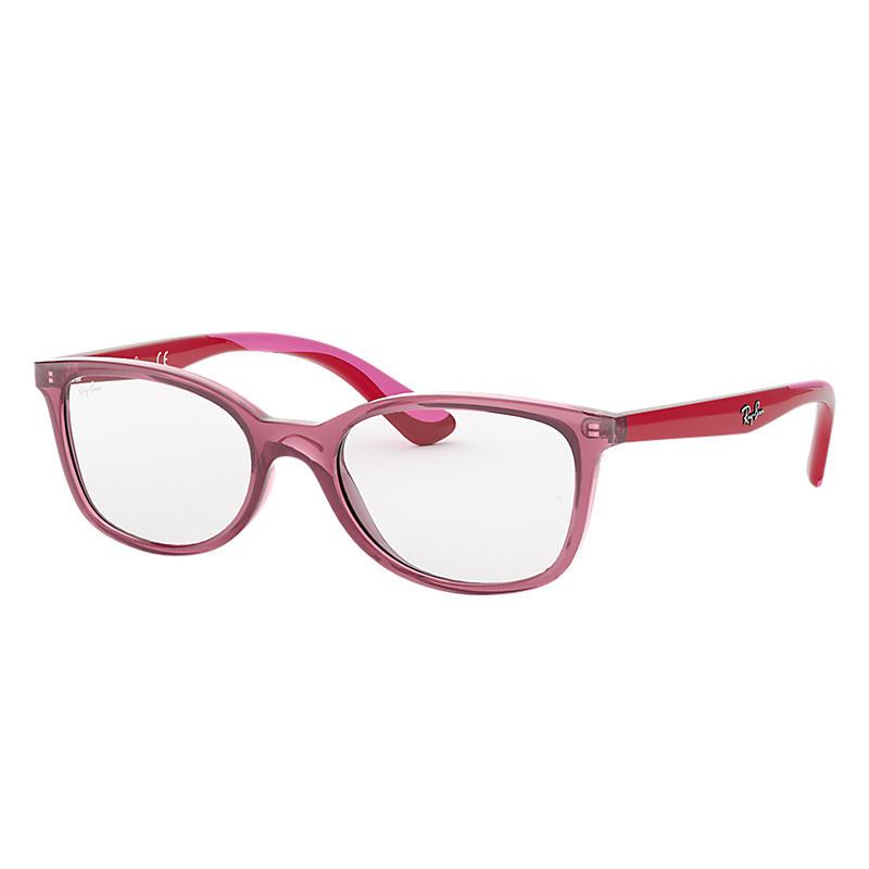 Image of Ray-Ban Junior Purple Eyeglasses - Rb1586