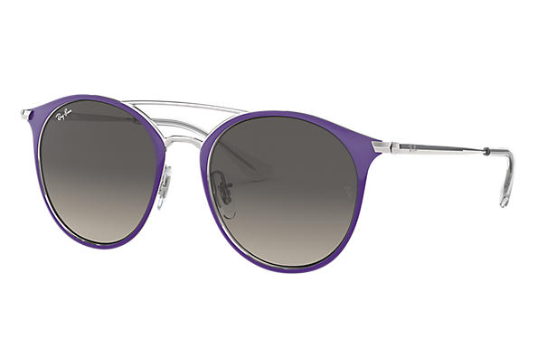 Ray-Ban Sunglasses RJ9545S Violet with Grey Gradient lens