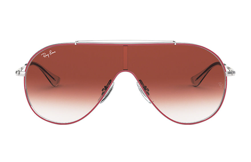 Ray-Ban  sunglasses RJ9546S CHILD 005 wings junior red 8053672972573