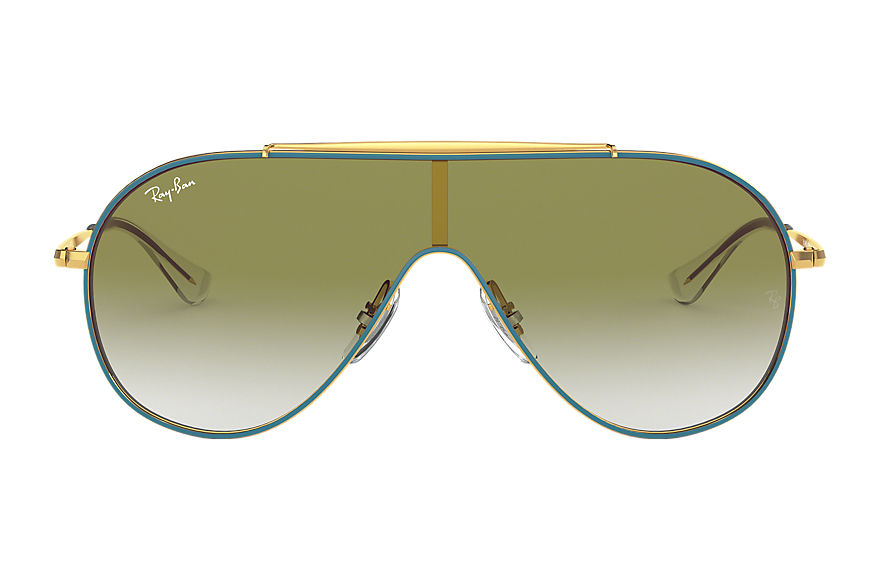 Ray-Ban  sunglasses RJ9546S CHILD 002 wings junior turquoise 8053672972580