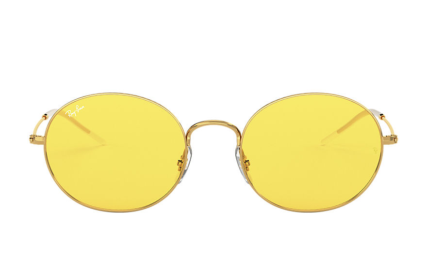 Ray-Ban RAY-BAN BEAT FESTIVAL EDITION Gold with Yellow Washed lens