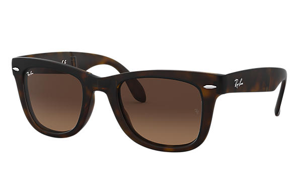 Ray-Ban 0RB4105-WAYFARER FOLDING GRADIENT 玳瑁啡色 SUN