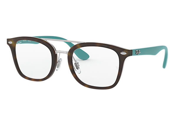 Ray-Ban 0RY1585-RB1585 Tartaruga; Verde Acqua OPTICAL