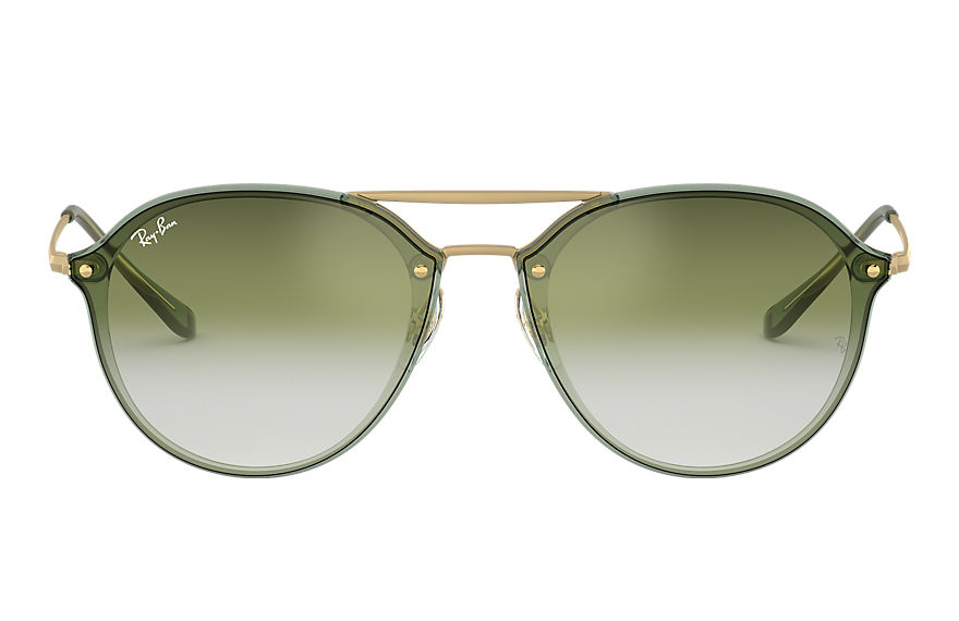 Ray-Ban  sunglasses RB4292N UNISEX 002 blaze double bridge 绿色 8053672974867