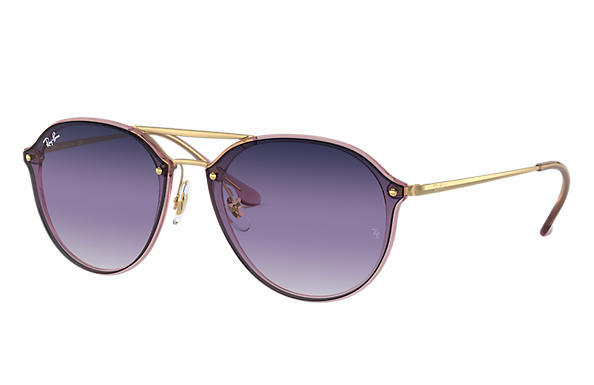 Ray-Ban 0RB4292N-BLAZE DOUBLE BRIDGE Pink; Gold SUN