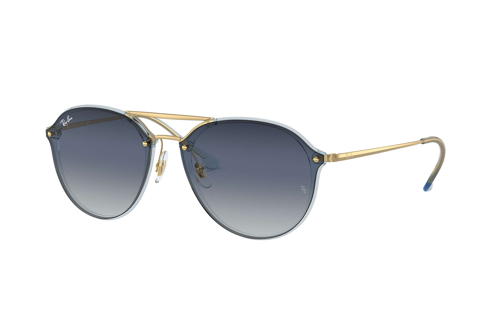 c8c1cbcfc1 Ray-Ban Blaze Double Bridge RB4292N Light Blue - Injected - Blue ...