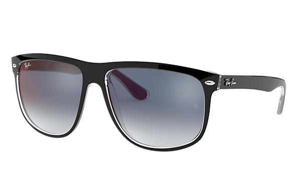 Ray-Ban 0RB4147-RB4147 Black,Transparent SUN