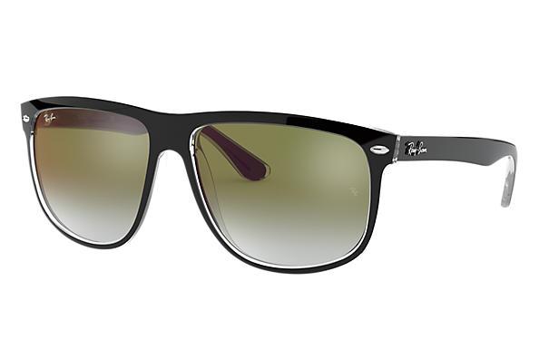 5e52a47acdd Ray-Ban RB4147 Black - Nylon - Green Lenses - 0RB41476039W056