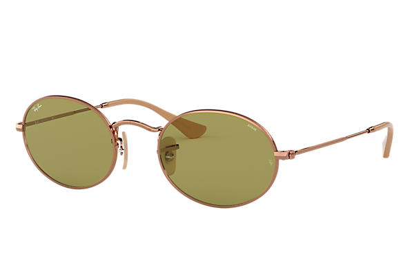 Ray-Ban 0RB3547N-OVAL EVOLVE Copper,Bronze-Copper; Bronze-Copper SUN