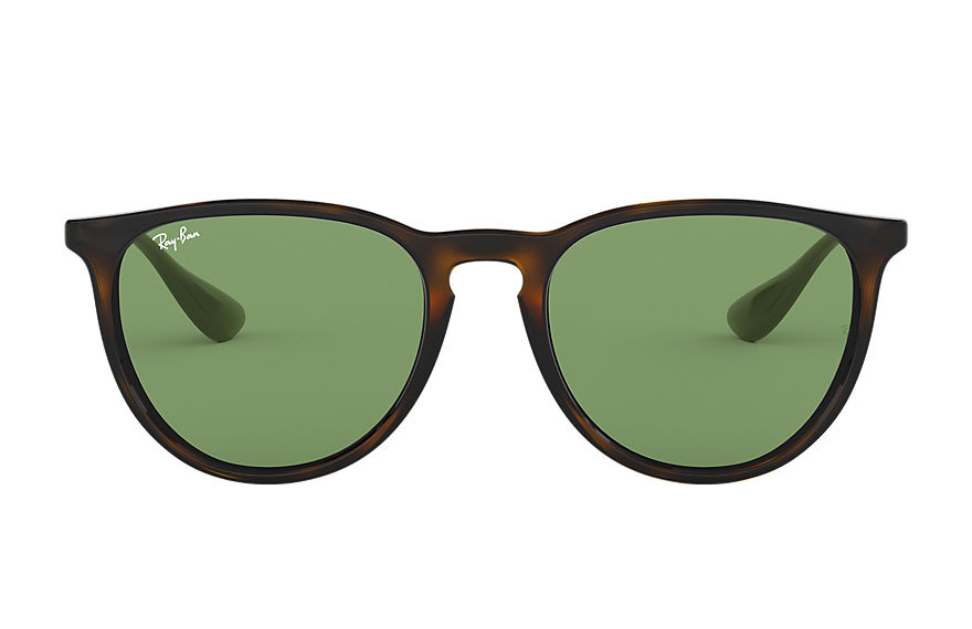 Ray-Ban ERIKA COLOR MIX Tortoise with Green Classic lens