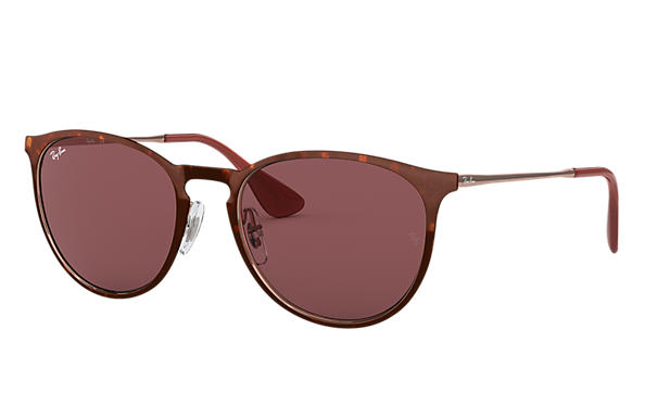 Ray-Ban 0RB3539-ERIKA METAL Tortoise; Bronze-Copper SUN
