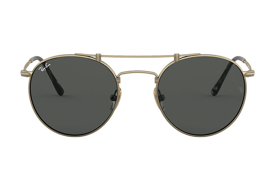 Ray-Ban  sunglasses RB8147 UNISEX 002 round titanium antique gold 8053672977394