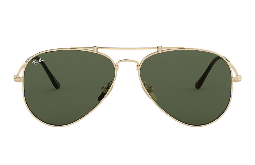 Ray-Ban  sunglasses RB8125 UNISEX 002 aviator titanium gold 8053672977486